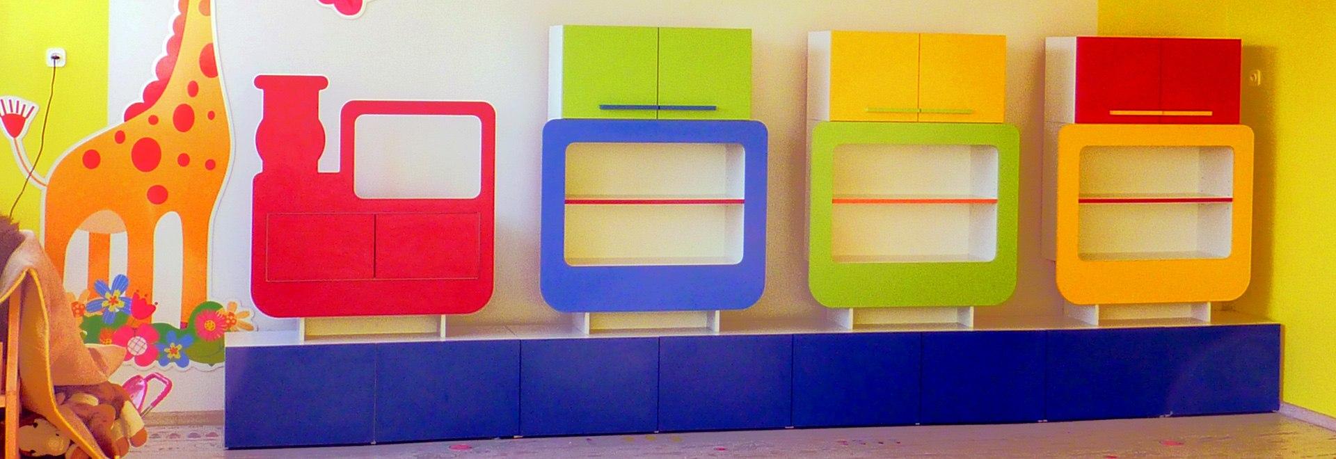 meble dziecięce dla przedszkoli i żłobków roltrans